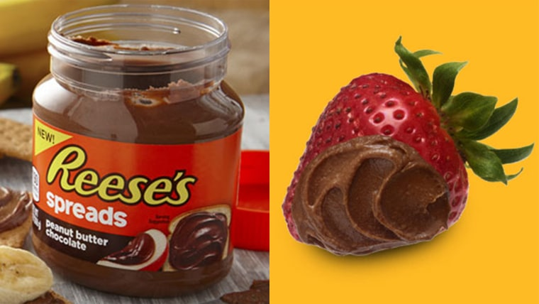 PB paradise: TODAY digs in to Reese's Peanut Butter Chocolate Spread