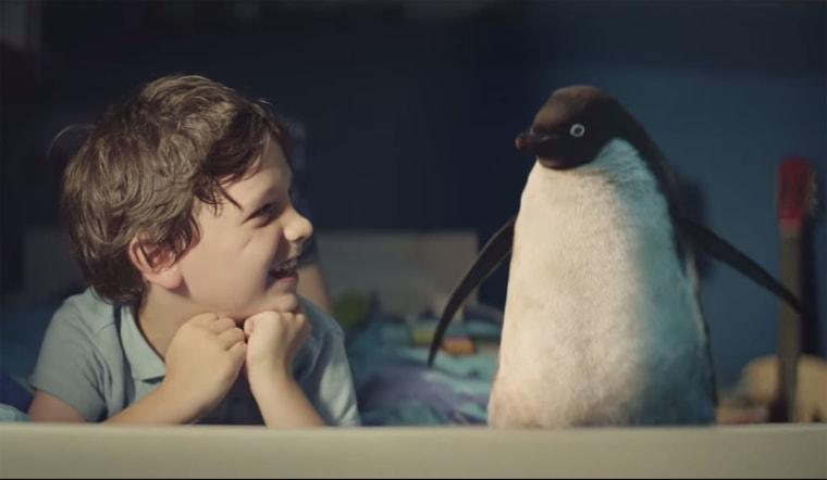 Monty Penguin John Lewis ad