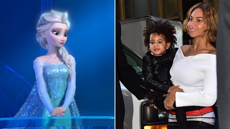 Elsa and (Blue) Ivy are in the 20 hot baby names poised for popularity.