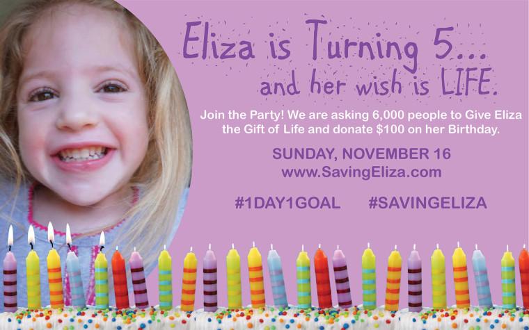 Eliza is Turning 5
