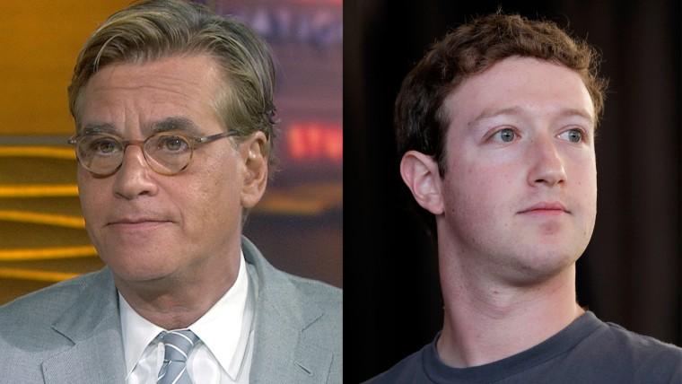 Aaron Sorkin, Mark Zuckerberg