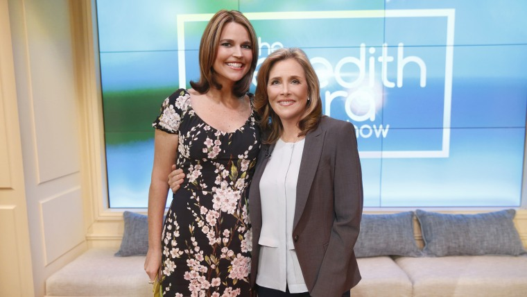 THE MEREDITH VIEIRA SHOW -- Episode AB059 -- Pictured: (l-r)  -- (Photo by: Peter Kramer/NBCU)