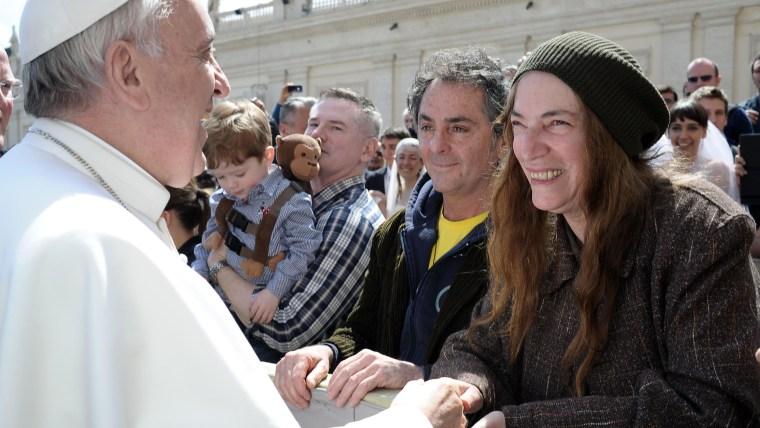 Pope Francis, Patti Smith
