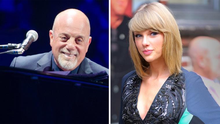 IMAGE: Billy Joel, Taylor Swift