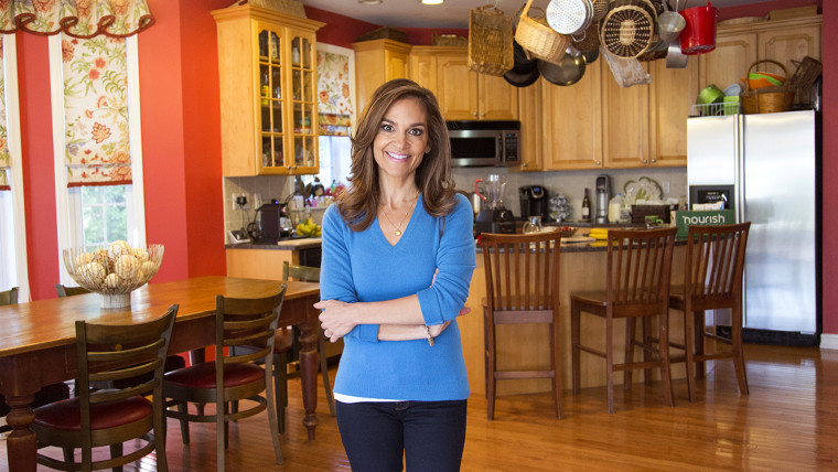 TODAY Show: Joy Bauer shows off her kitchen for At Home with TODAY on November 19, 2014.