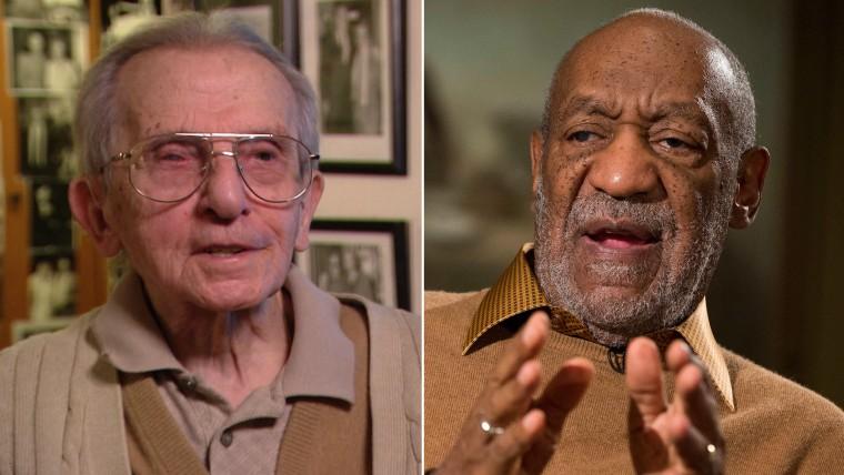 Frank Scotti and Bill Cosby
