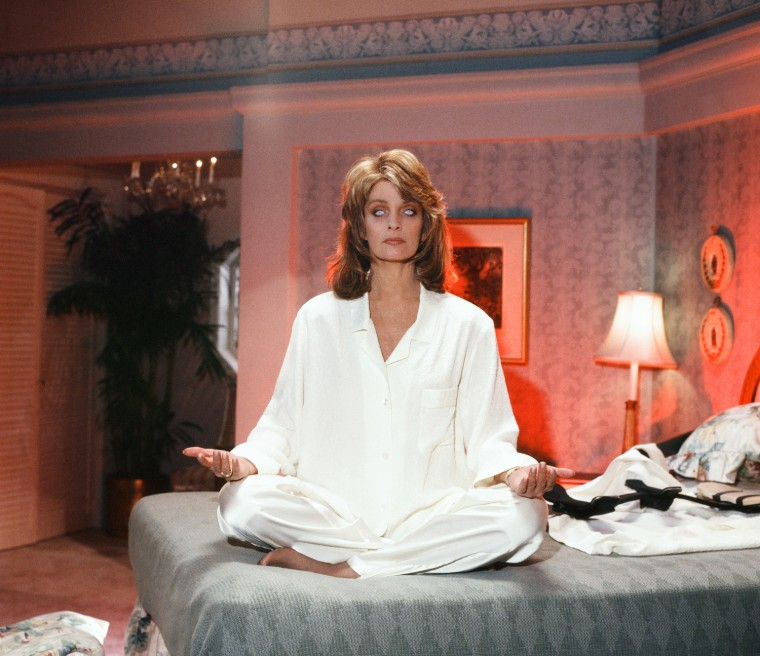 She's got more than Bette Davis eyes: Marlena Evans (Deidre Hall) is possessed.