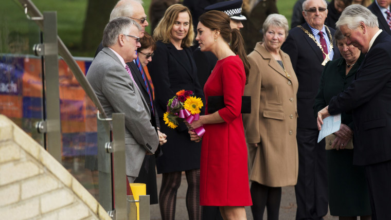 Image: Britain's Kate, the Duchess of Cambridge