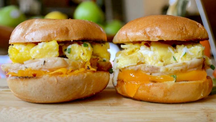turkey-egg sandwich