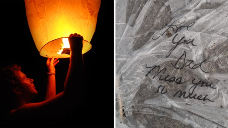 Read father's touching letter to girl whose sky lantern landed in his driveway