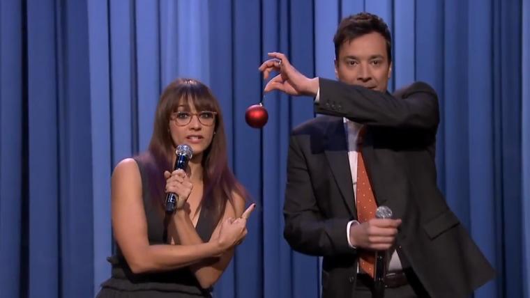 Rashida Jones on The Tonight Show