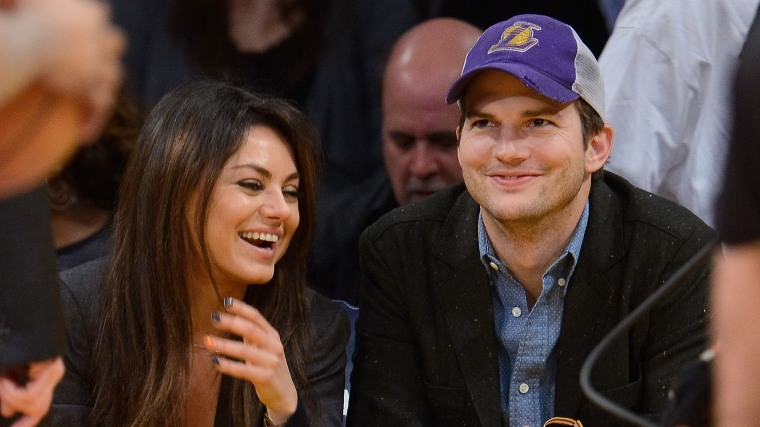 IMAGE: Kutcher and Kunis