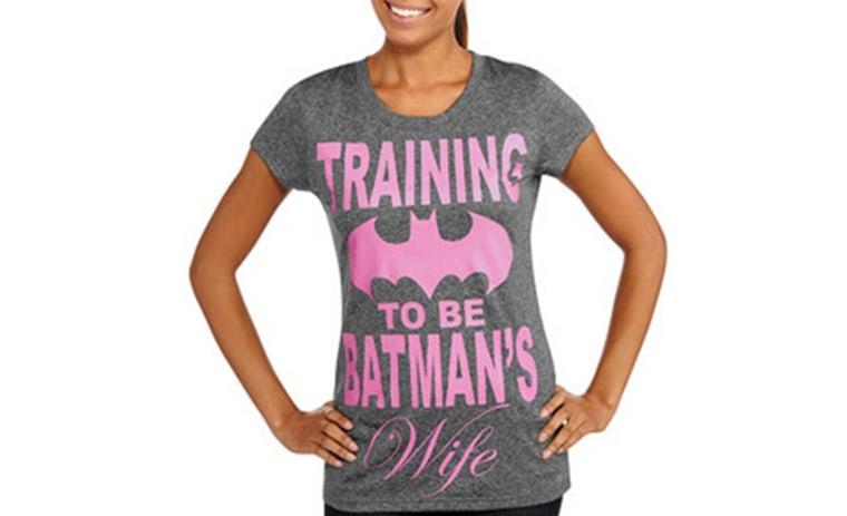 """""""Training to Be Batman's Wife"""" shirt"""