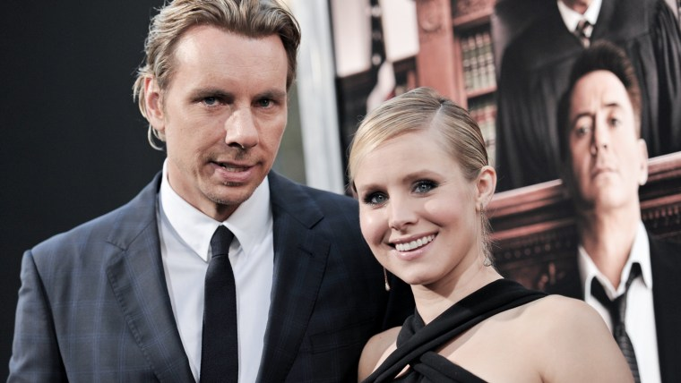 Image: Dax Shepard and Kristen Bell