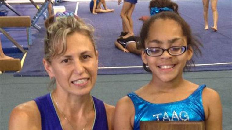 Adrianna Kenebrew, 11, is legally blind.