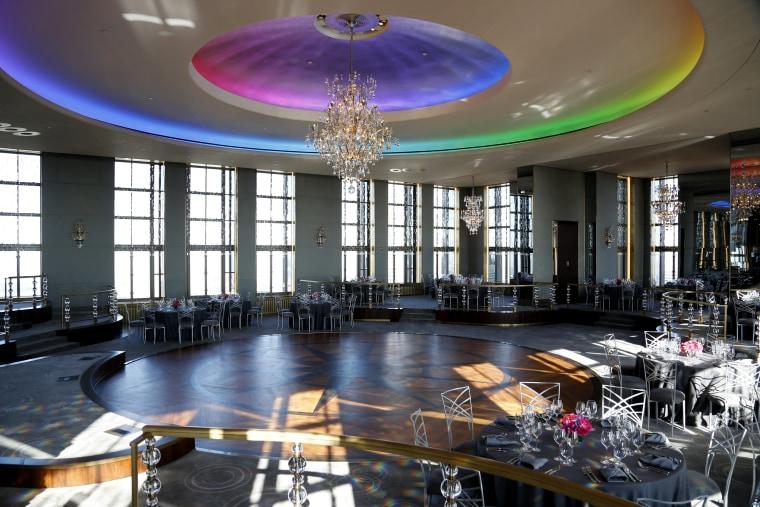 Rainbow Room inside