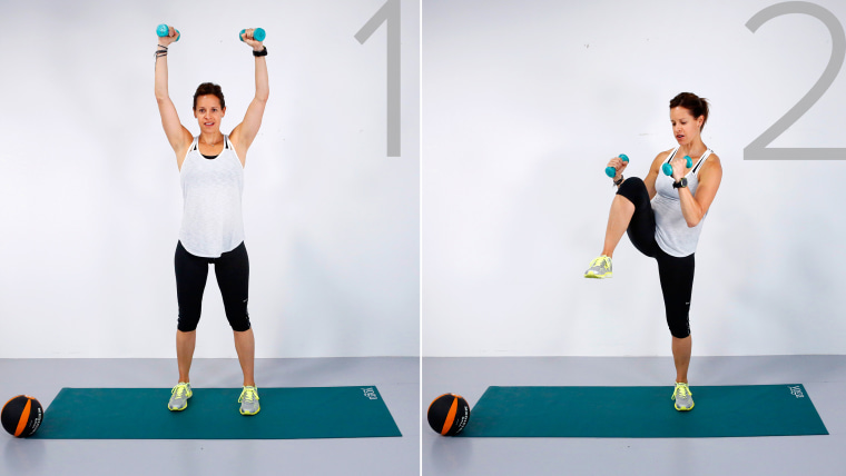 Image: Jenna Wolfe demos the Apple Pickers workout