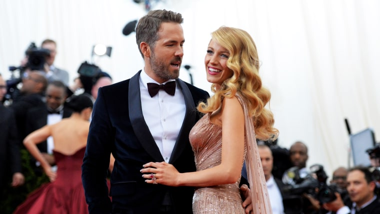 """Ryan Reynolds and Blake Lively attend the """"Charles James: Beyond Fashion"""" Costume Institute Gala at the Metropolitan Museum of Art."""