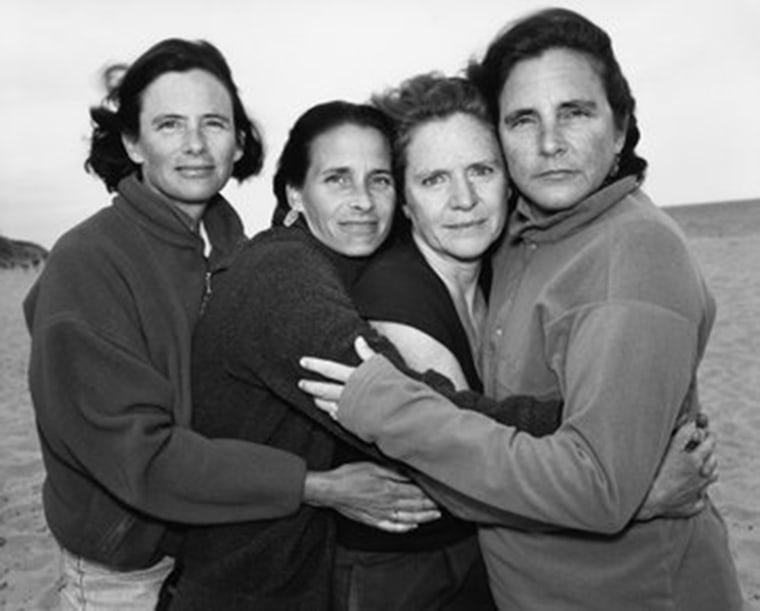 Brown sisters in 2000