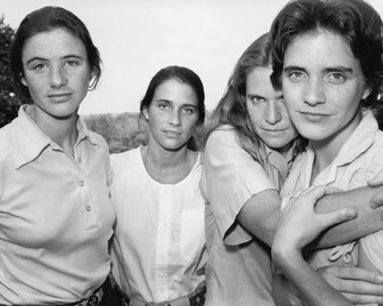 The Brown sisters in 1980.
