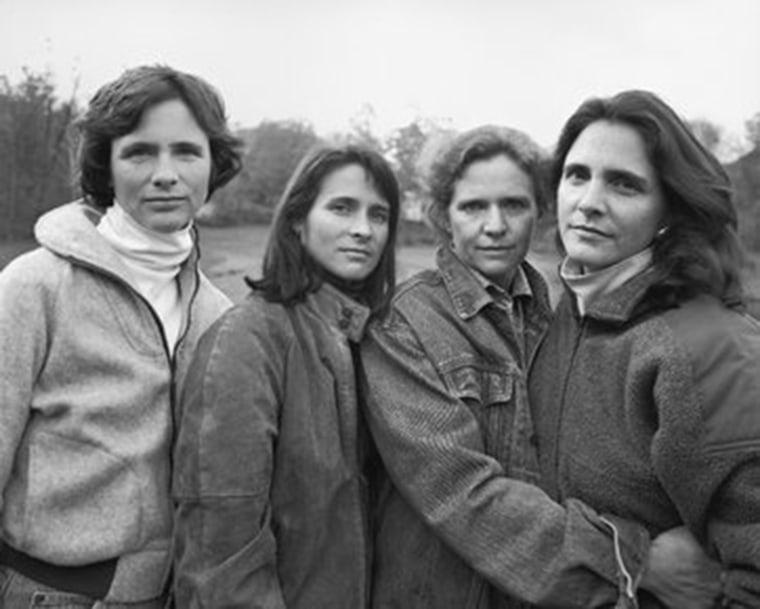 Brown sisters in 1990