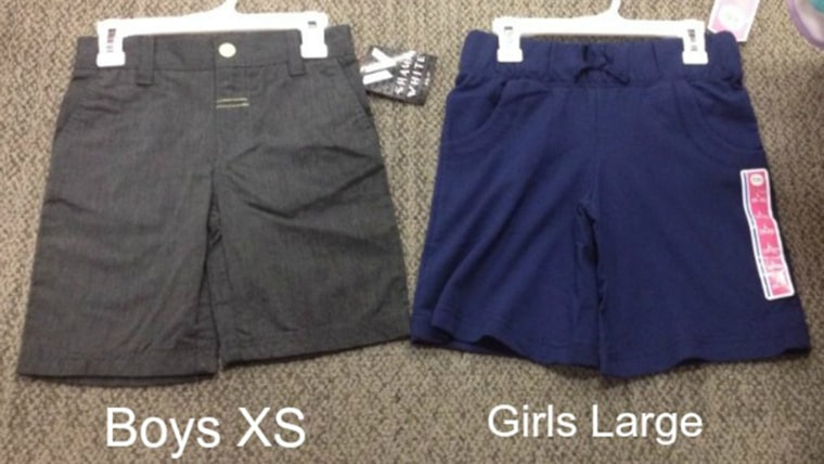 c224e8596 Target responds to mom s complaints about girls  clothing sizing. IMAGE   Shorts