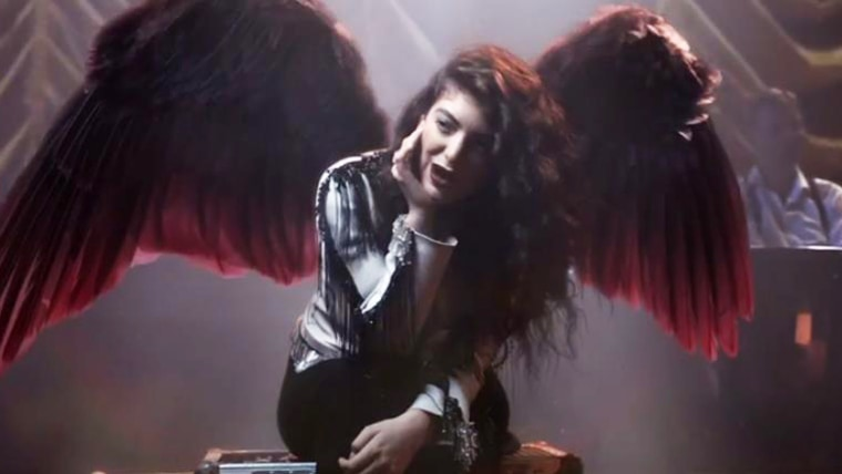 IMAGE: Lorde in God Only Knows charity video