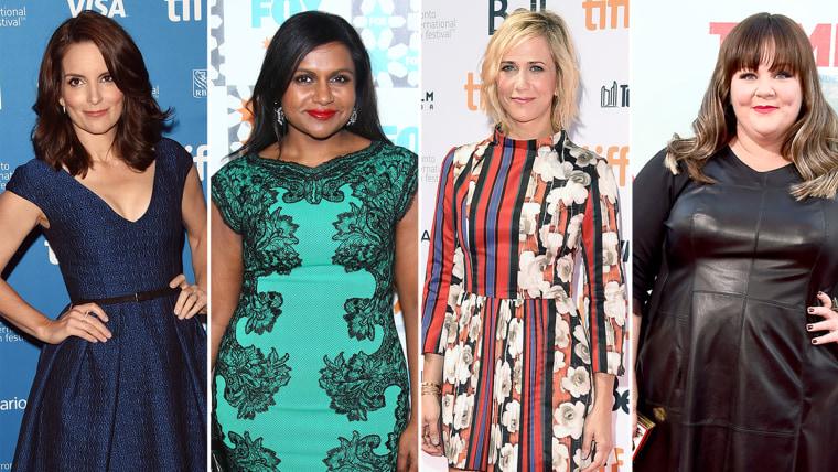 Image: Tina Fey, Mindy Kaling, Kristen Wiig and Melissa McCarthy