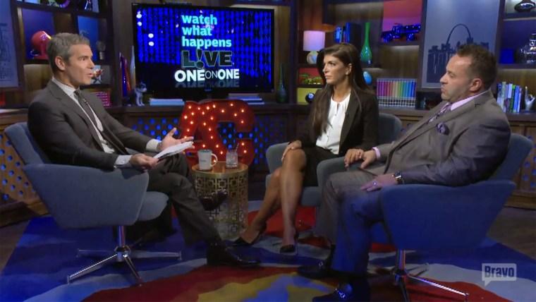 Andy Cohen, Teresa and Joe Giudice