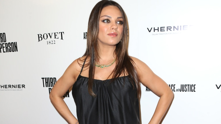 """HOLLYWOOD, CA - JUNE 09:  Actress Mila Kunis attends the premiere of Sony Picture Classics' """"Third Person"""" at Linwood Dunn Theater at the Pickford Cen..."""