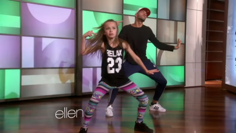 Taylor Hatala kills it on Ellen