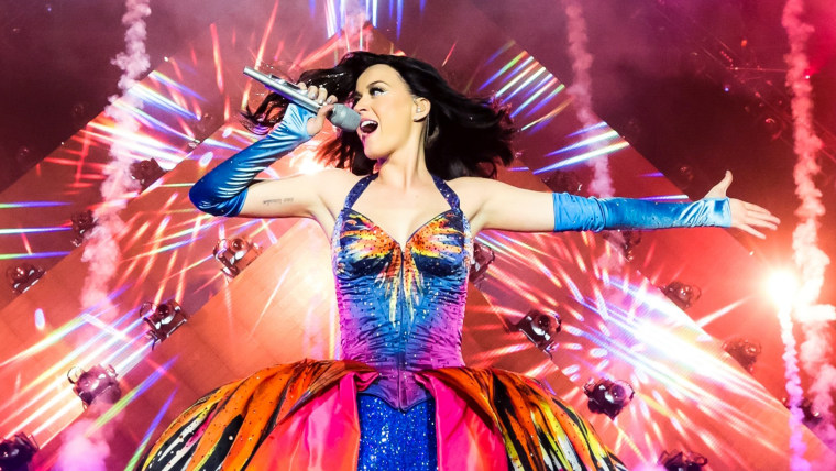 FILE - OCTOBER 09: Singer Katy Perry will perform the halftime show for Super Bowl XLIX. BELFAST, UNITED KINGDOM - MAY 07: Katy Perry performs on stag...
