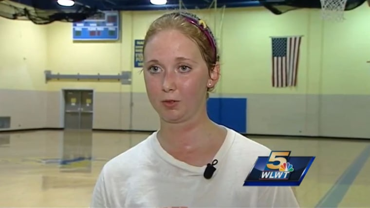 Lauren Hill, a student at Mount St. Joseph University, has DIPG, a brain cancer that could end her life in the near future.
