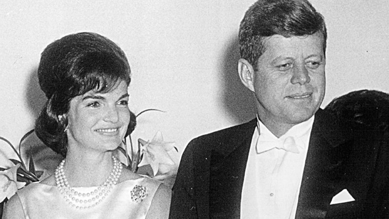 The President and Mrs. Kennedy.