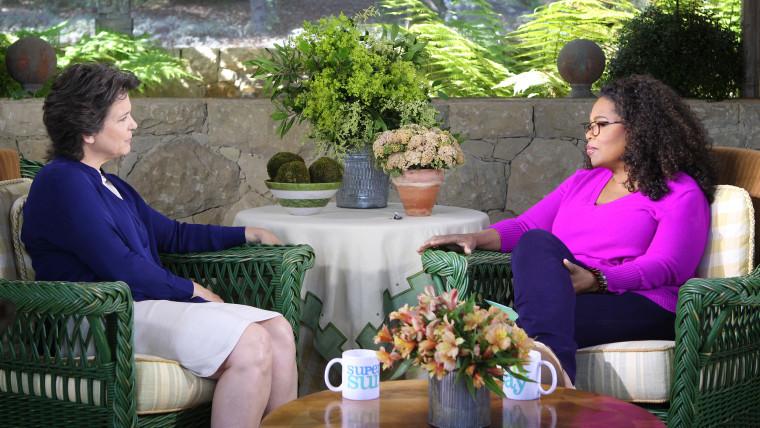 Image: Madonna Badger and Oprah Winfrey