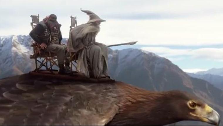 Image: Hobbit airline video