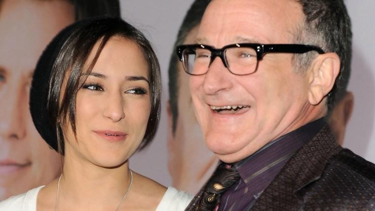 Image: Zelda Williams, Robin Williams