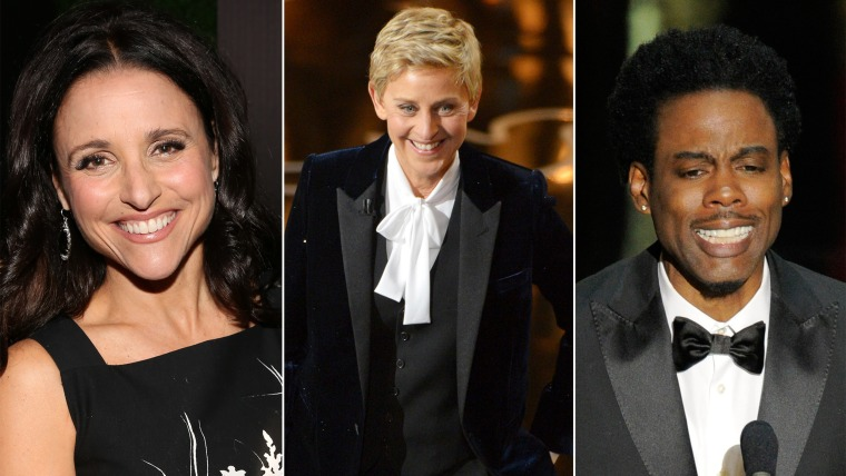 Your Oscar hosts could have been Julia Louis-Dreyfus, Ellen DeGeneres or Chris Rock!