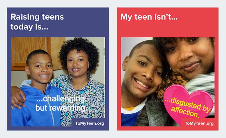 parent and teen