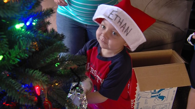 On Friday, the town of West Jordan is holding a Christmas Eve celebration in Ethan's honor and then the family will celebrate his favorite holiday, Christmas, on Saturday.