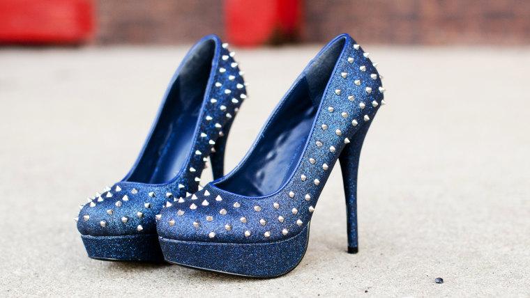 """Lauren's """"Chemo Shoes"""""""