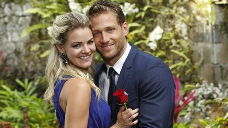 """Bachelor"" Juan Pablo Galavis and winner Nikki Ferrell"