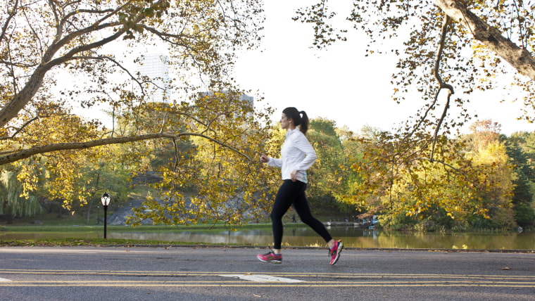Amy Eley running