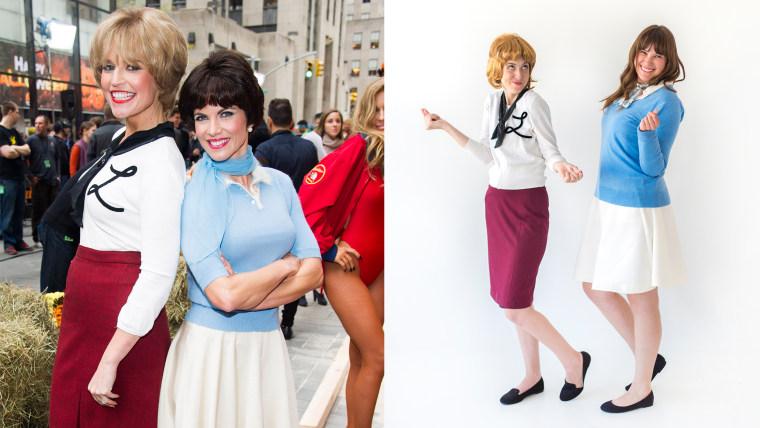 Laverne & Shirley Halloween costume