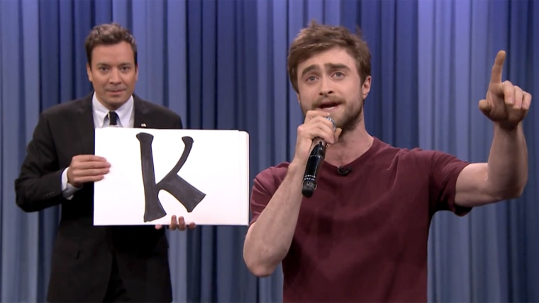 Jimmy Fallon, Daniel Radcliffe