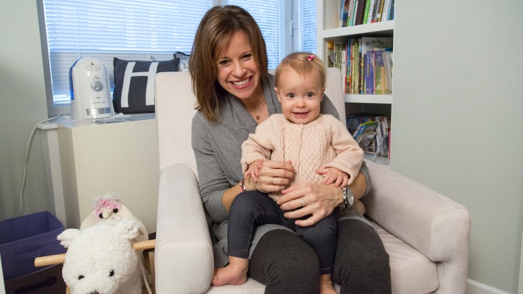 At Home With Today Join Jenna Wolfe For A Playdate In Harper S Nursery