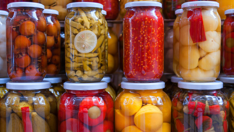 Pickled vegetables; Shutterstock ID 136234664; PO: TODAY.com