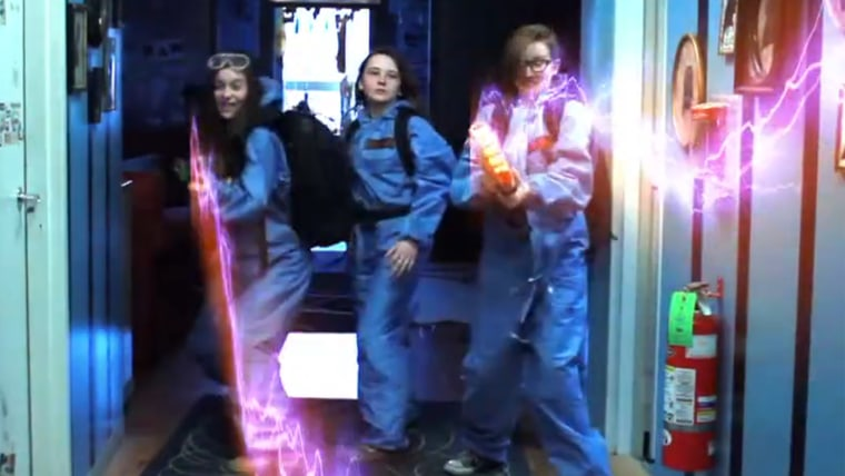 """Image: """"Ghostbusters"""" girls"""