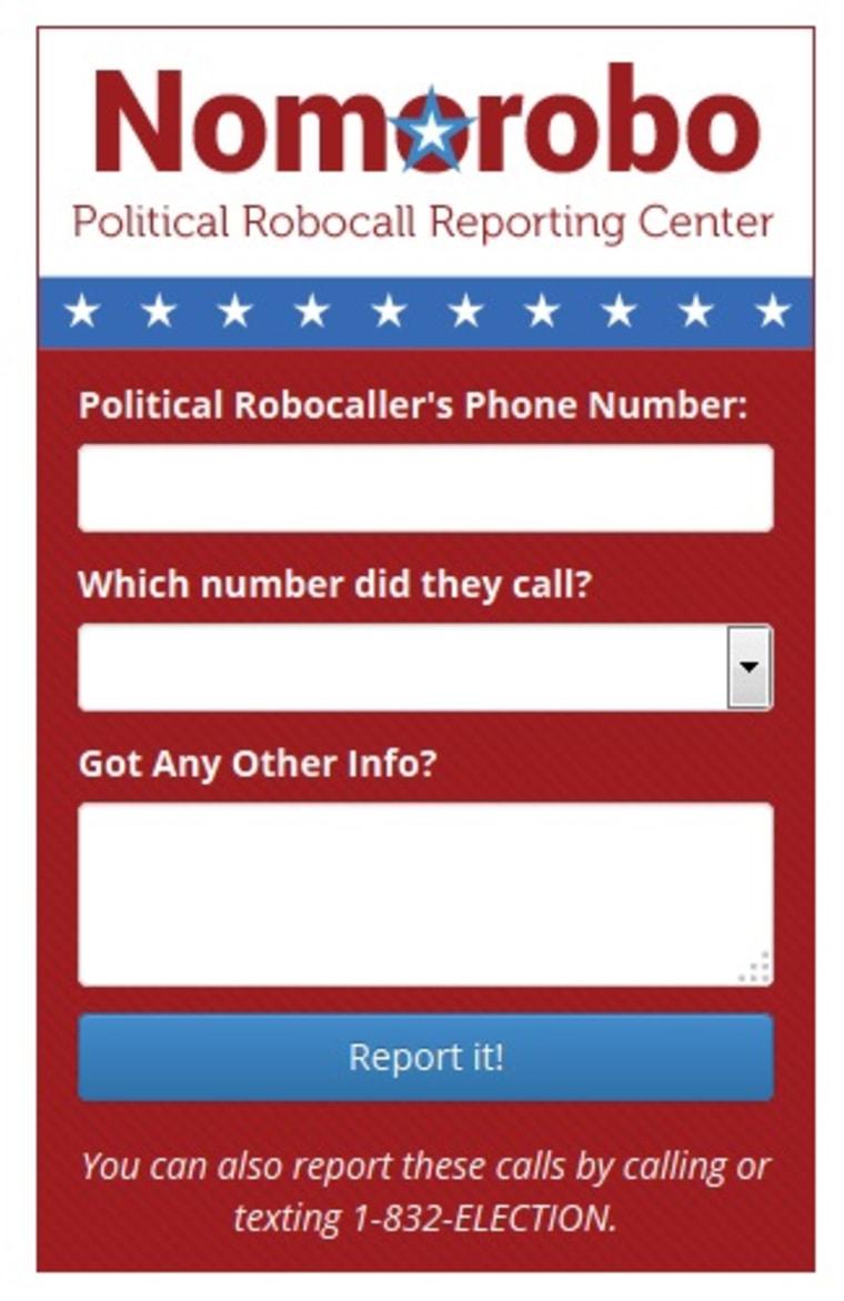 Nomorobo app