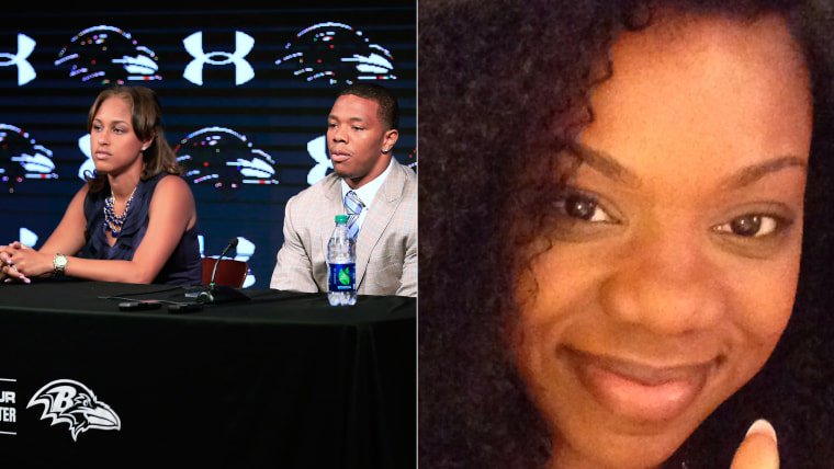 Beverly Gooden penned a letter to victims of domestic violence like herself, and Janay Rice.